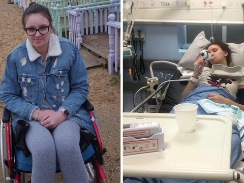 Teen girl 'paralysed by HPV vaccine' in battle for therapy to save her life