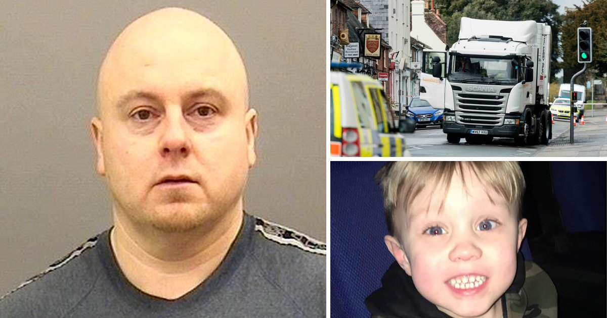 Lorry driver will only serve year for killing boy, 3, while on licence for murdering wife