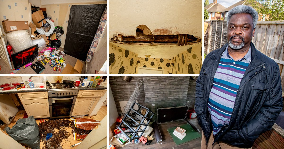 Tenant causes £7,000 damage and leaves family home 'unlivable'