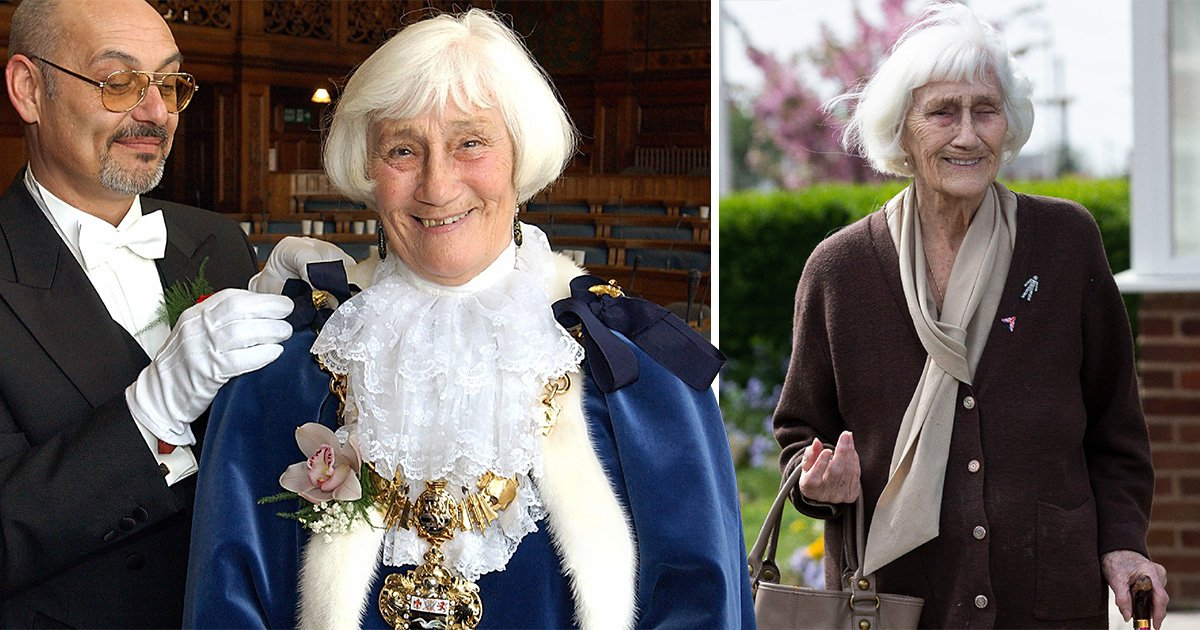 Britain's oldest councillor is taking on young whippersnappers at 92