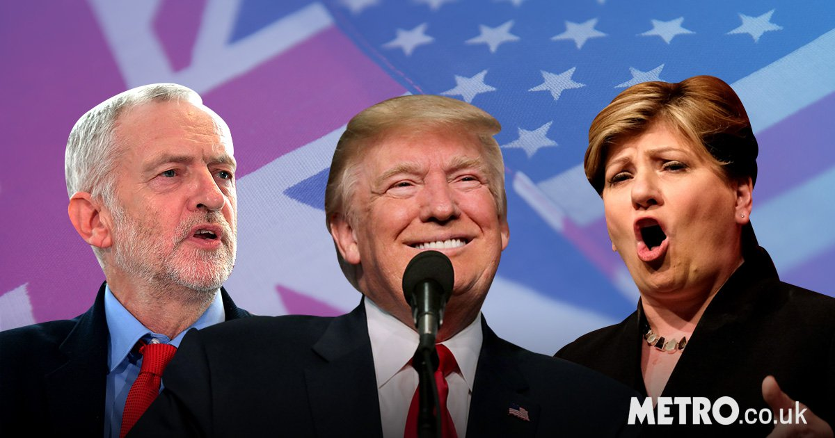 Labour slam Theresa May for welcoming 'racist and misogynist ' Donald Trump