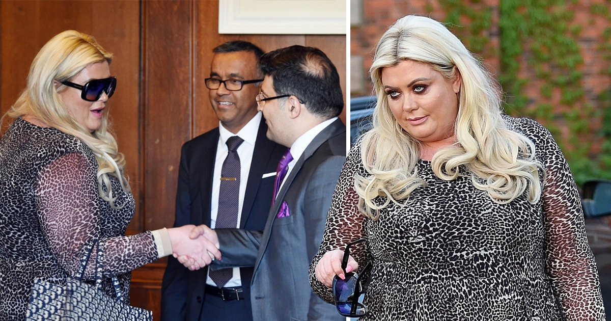 Gemma Collins pictured at cosmetic surgery ahead of her 'new reality TV show Diva Forever'