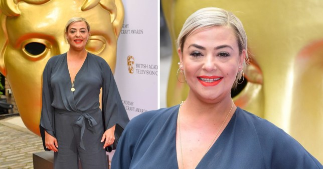 lisa armstrong bafta craft awards nominated best team strictly come dancing red carpet divorce from ant mcpartlin