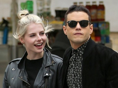 Rami Malek spends quality time with girlfriend Lucy Boynton after confirming James Bond role