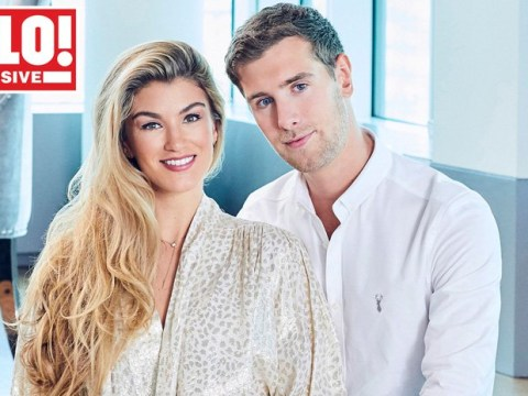 Amy Willerton shows off giant engagement ring after making fiancé Daniel Day ask her to marry him twice