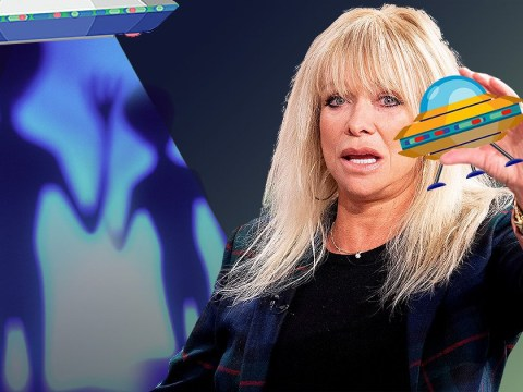 Jo Wood is remarkably chill as she recalls shocking encounter with UFO during flight with her son