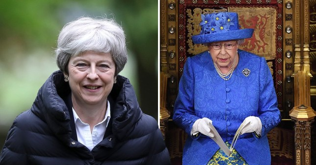 Theresa May is delaying the Queen's speech until Brexit has been passed