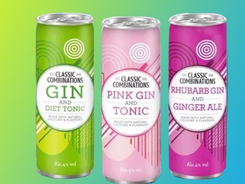 B&M launches three new gin and tonic flavours for 89p each