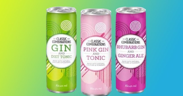 B&M has launched three new tins of gin