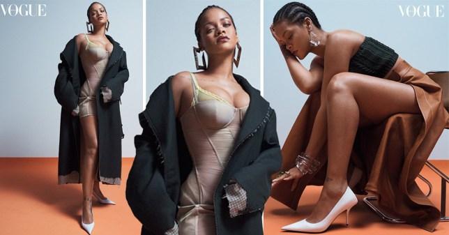 Rihanna in Vogue Australia May 2019