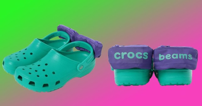 c05fc683f Crocs unleash even more horror on the world with their bumbag shoes ...