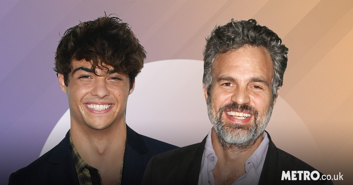 Noah Centineo is still being compared to Mark Ruffalo – and he's fine with that
