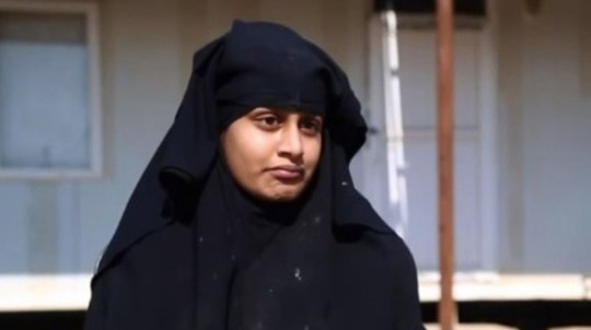 Shamima Begum appearing on ITV News 20.2.2019 (Picture: ITV News)