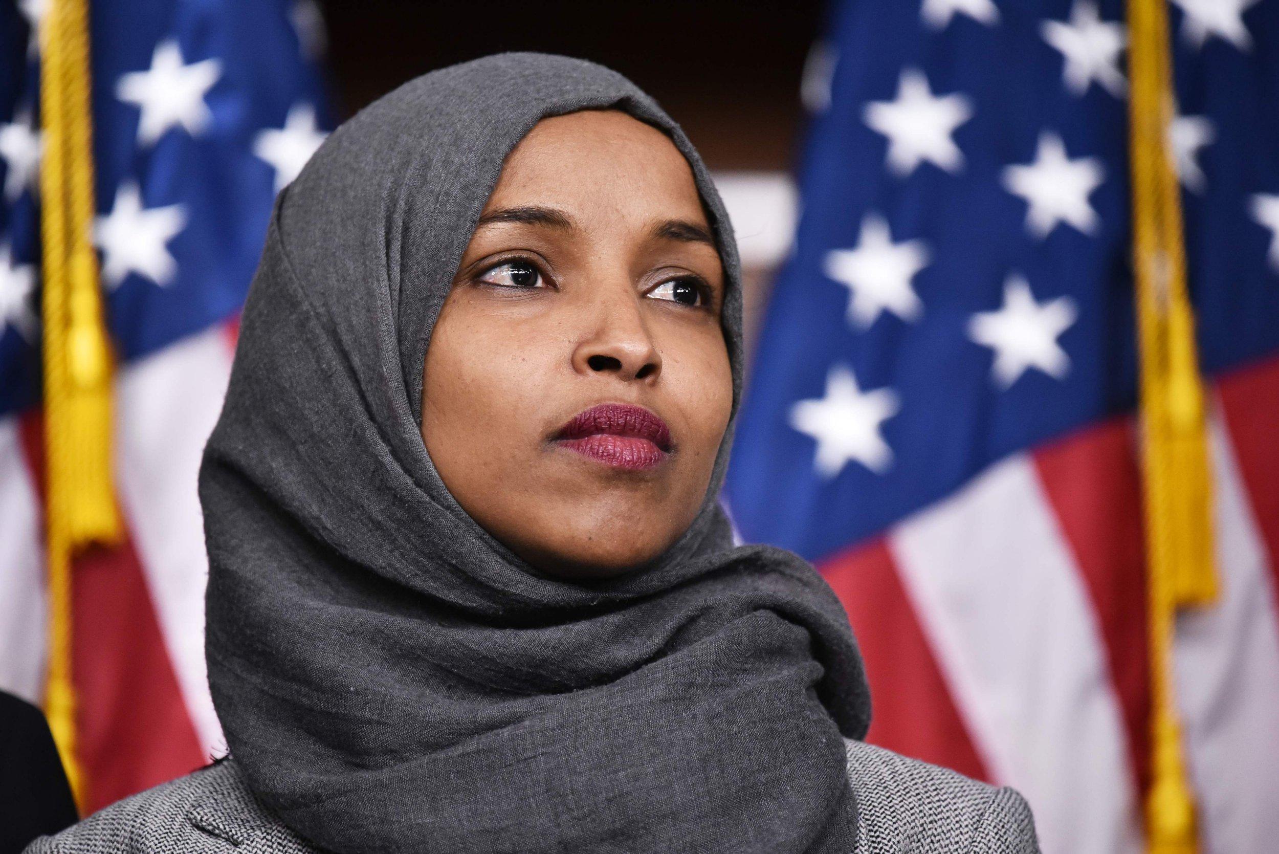 Donald Trump targets Muslim congresswoman with graphic 9/11 video