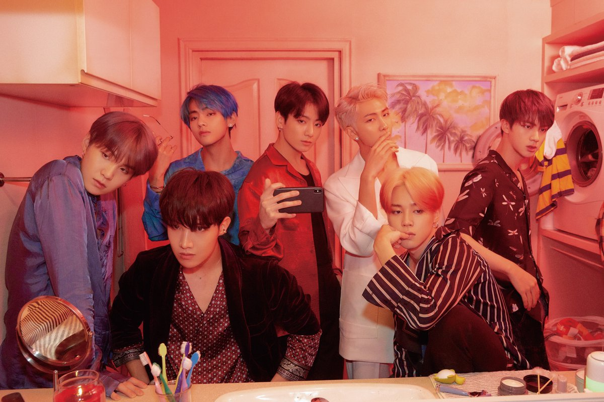 Image of BTS' new album cover, Map Of The Soul: Persona (@BigHitEnt)
