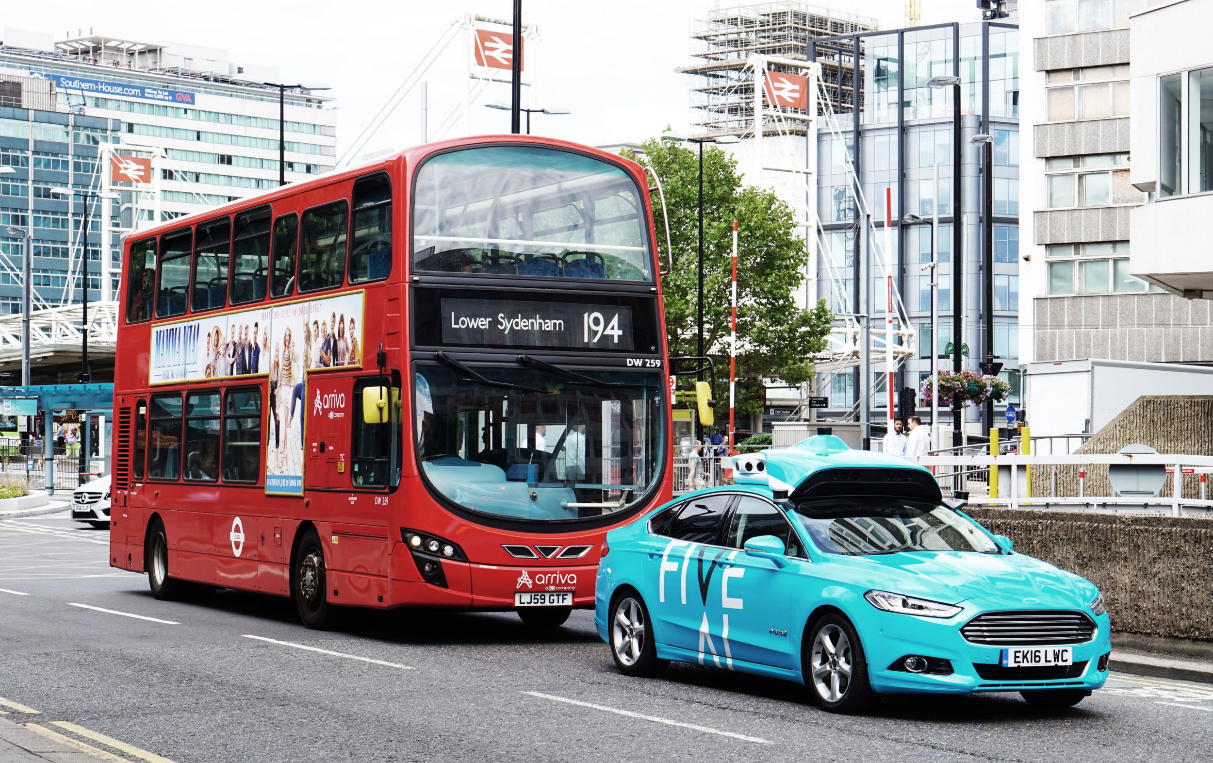 Self-driving cars are now being tested on London's streets