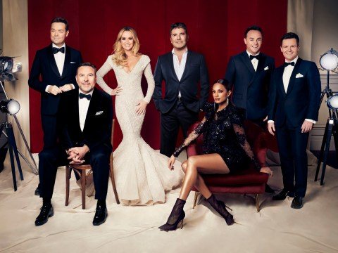 Simon Cowell and Britain's Got Talent 'family back together' as Ant McPartlin returns