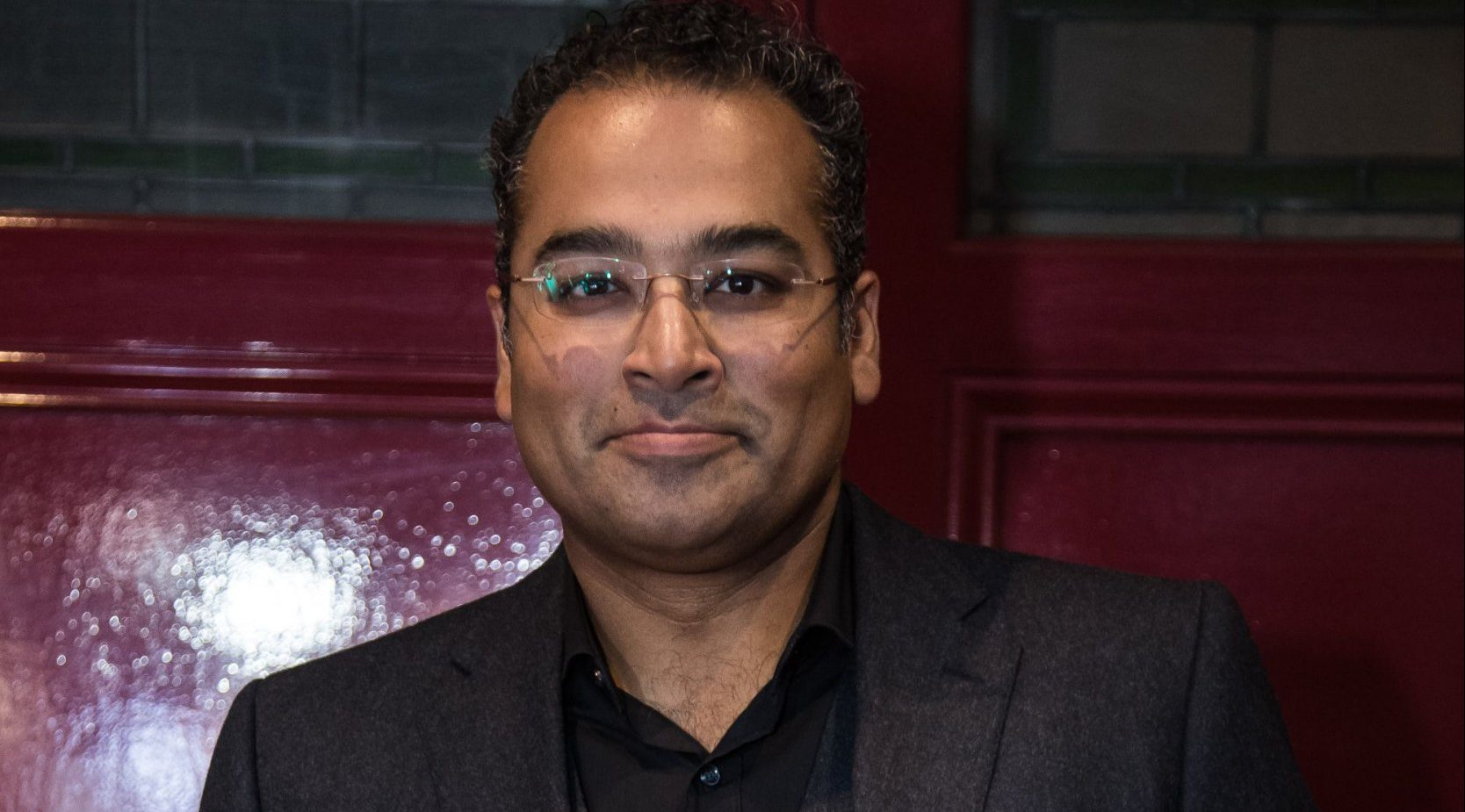 Channel 4 presenter Krishnan Guru-Murthy's career as he competes in Celebrity Bake Off