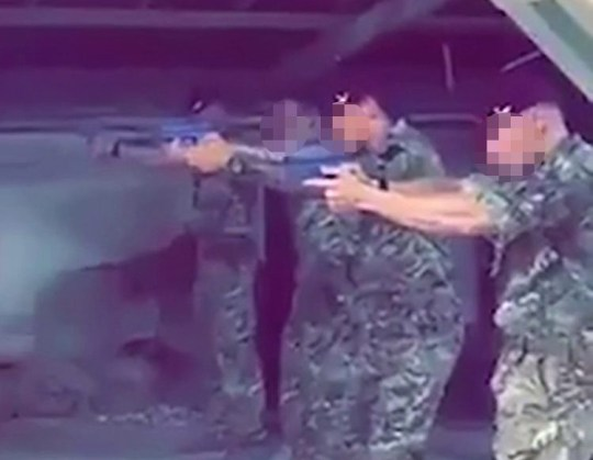METROGRAB: Soldiers film themselves shooting Jeremy CorbynUSE MUZZED VERSION