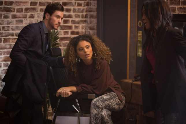 Chantelle and Gray are worried by Kim's actions