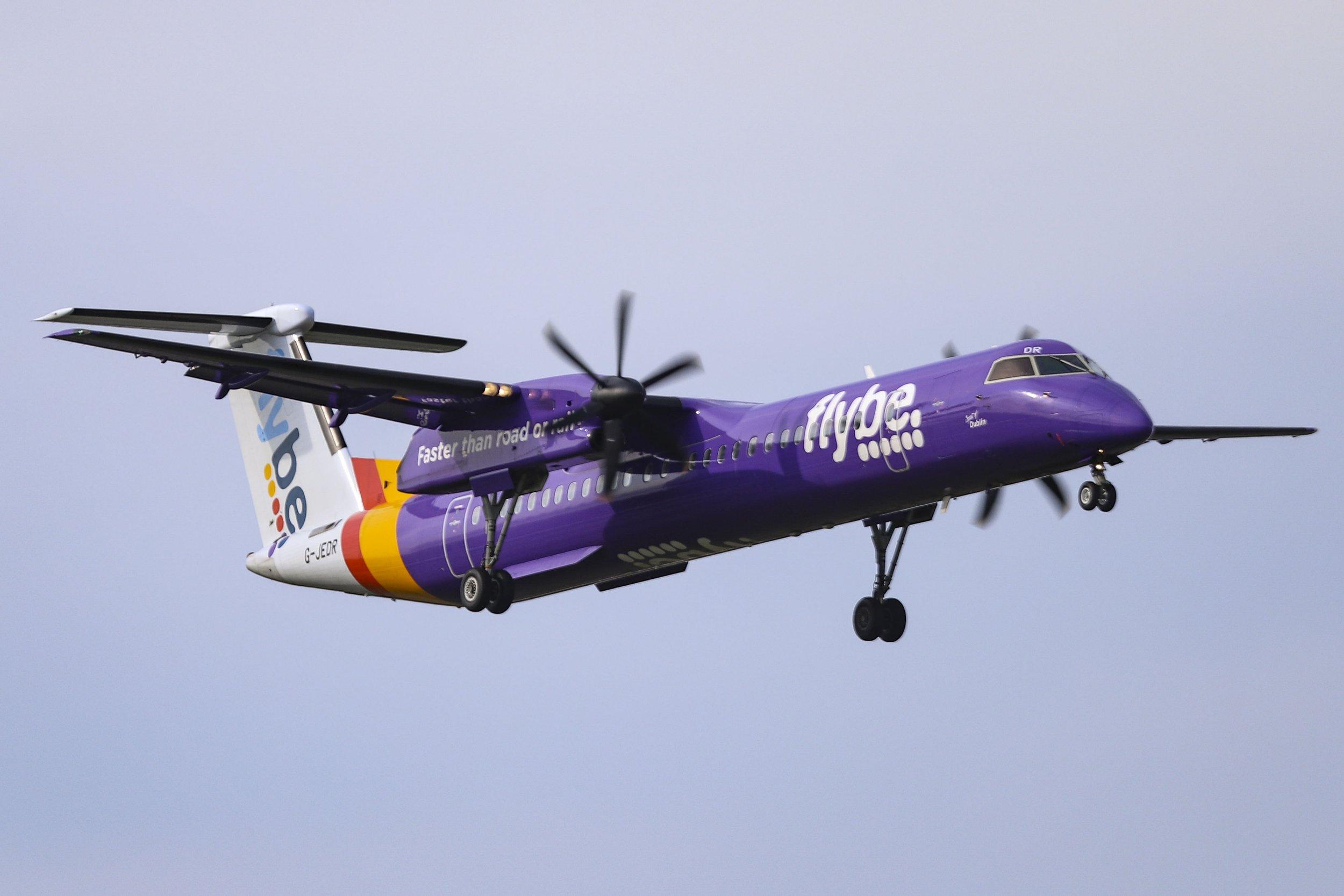 Flybe cancels dozens of flights after 'pilot shortage'