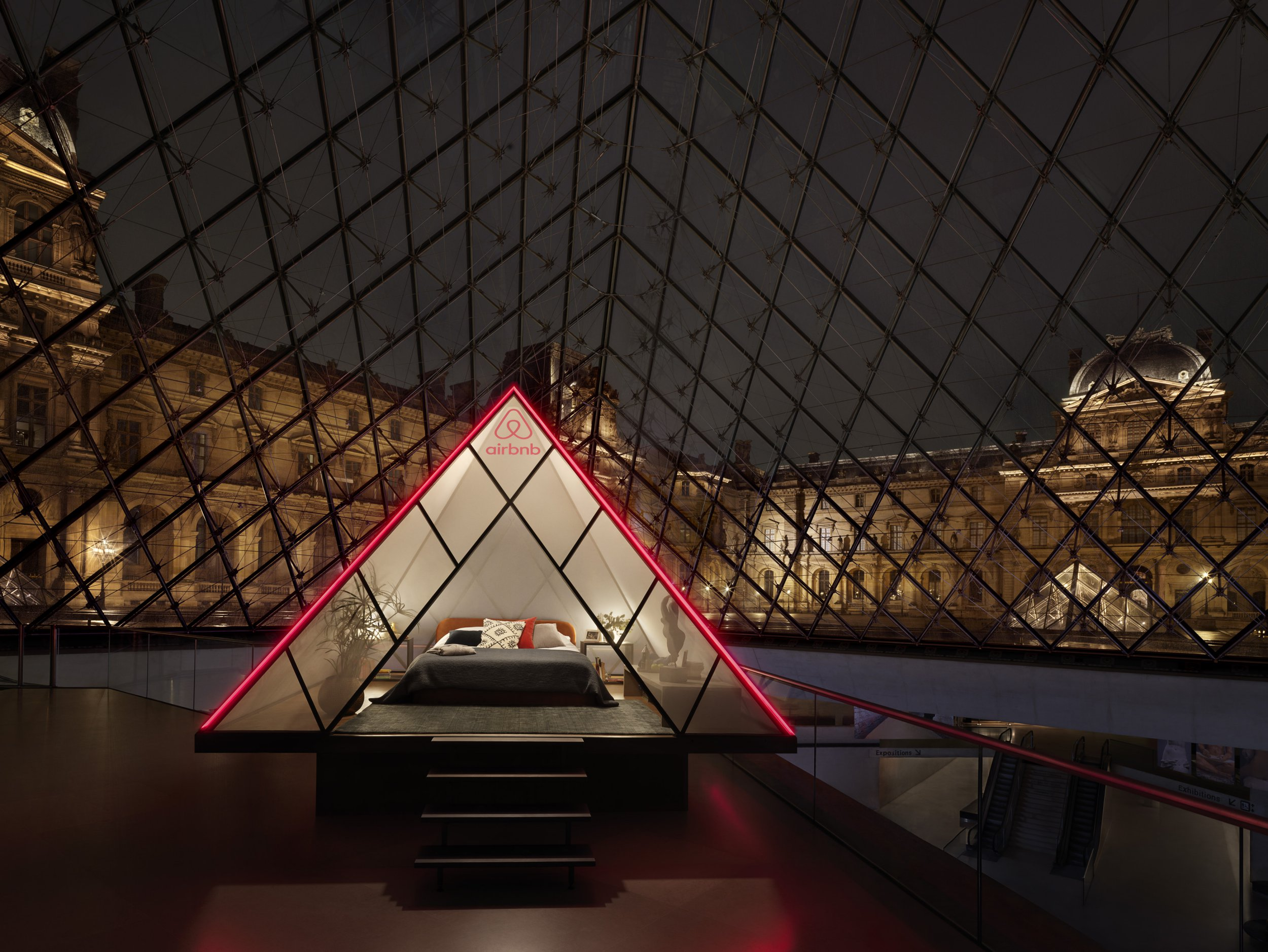 You can sleep at the Louvre for a true Night at the Museum experience