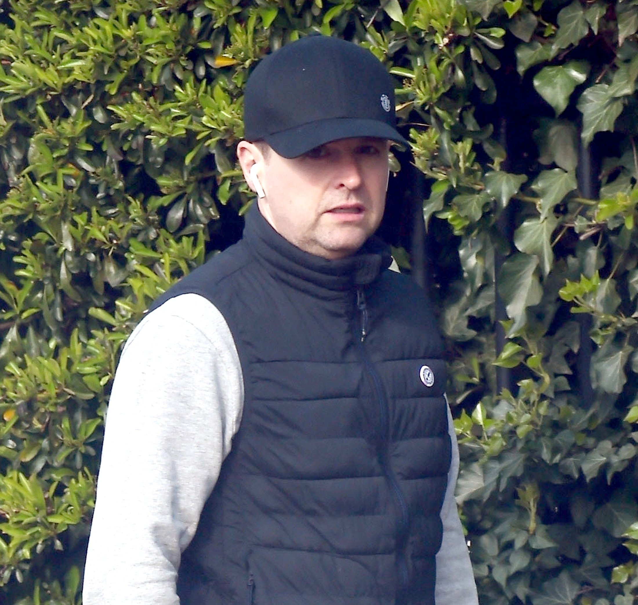 Declan Donnelly keeps head down on dog walk after revealing Ant McPartlin arrest 'destabilised' him