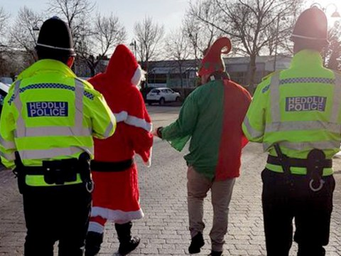 Bad Santa and naughty elf fined for bogus charity collections