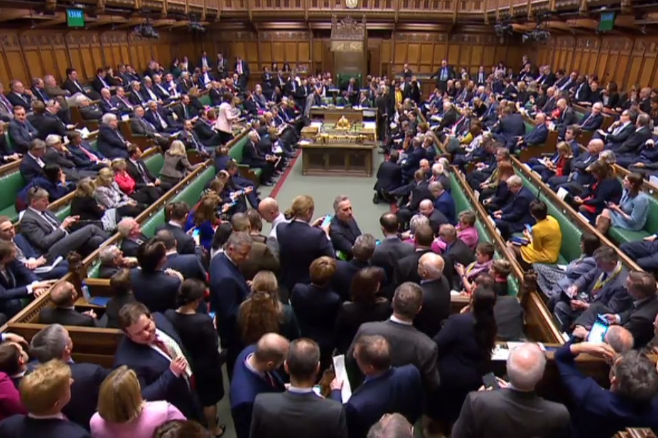 Brexit vote ends in tie for first time in 26 years