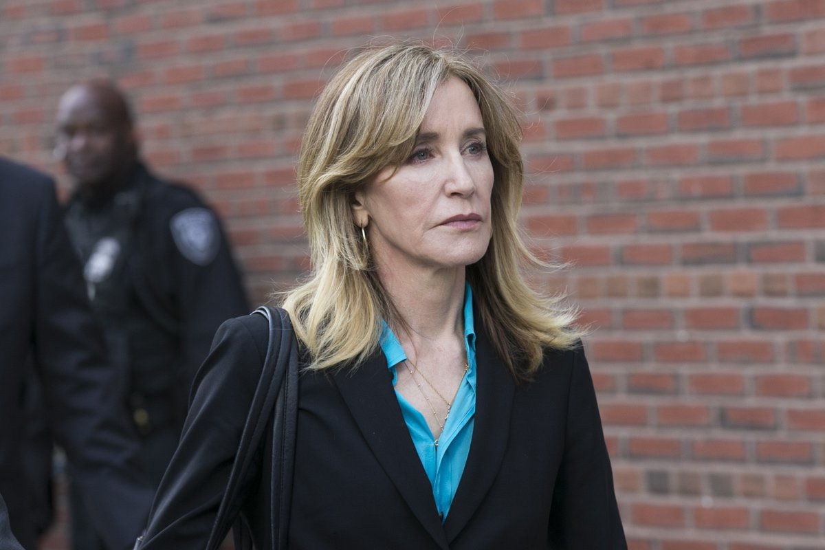 Felicity Huffman still faces months in prison after pleading guilty in college admissions scam