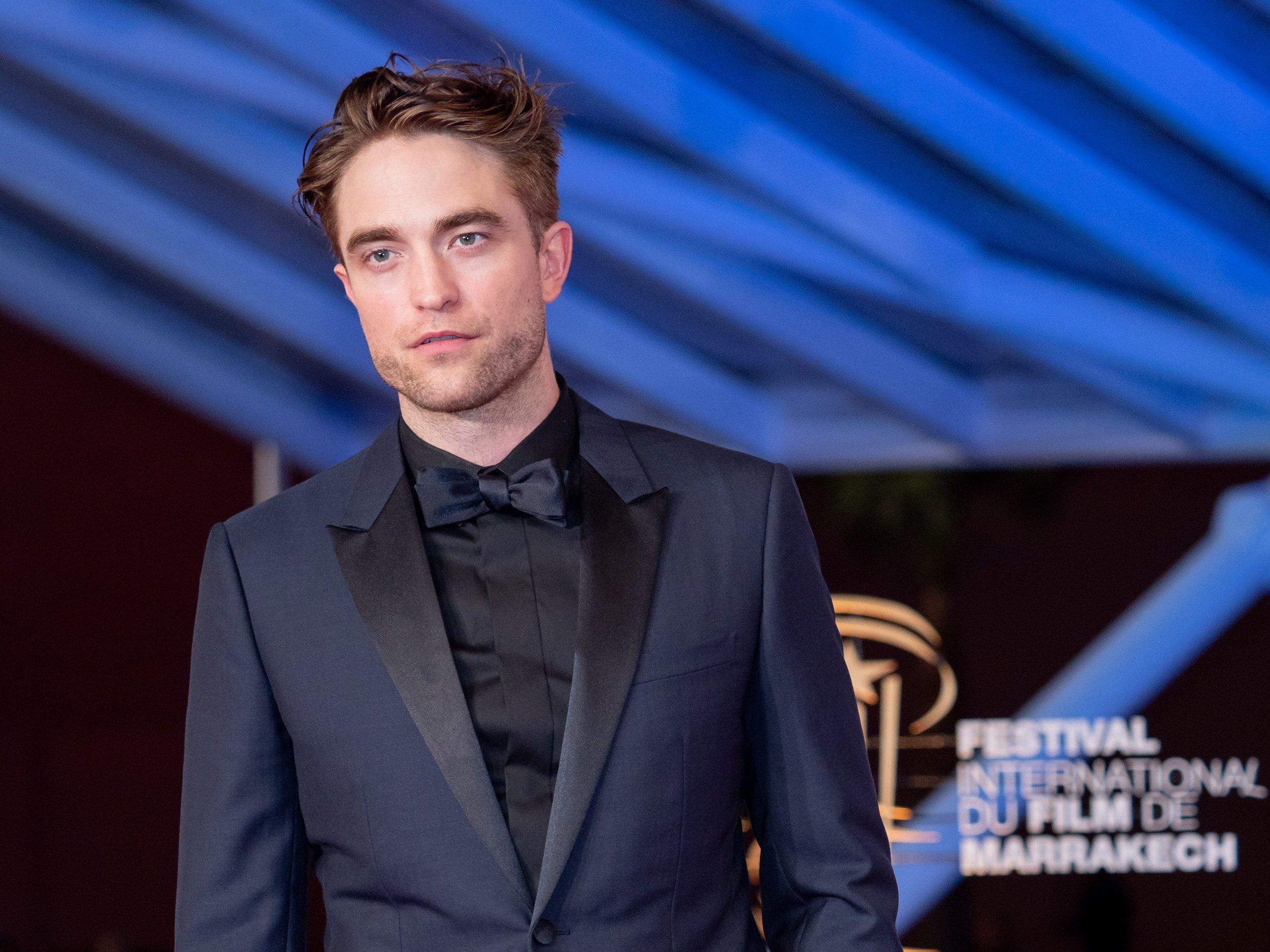Mandatory Credit: Photo by Laurent VU/SIPA/REX/Shutterstock (10010782m) Robert Pattinson attends the Opening Ceremony Marrakech Film Festival, Morocco - 30 Nov 2018