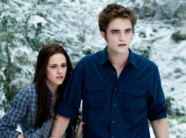Bella and Edward in Twilight