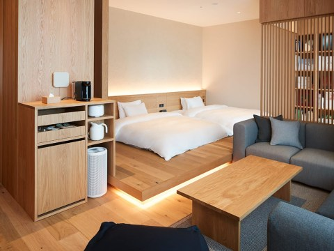 Muji hotel opens in Japan and it's a minimalist dream