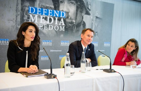 Amal Clooney gets job from UK government as media envoy