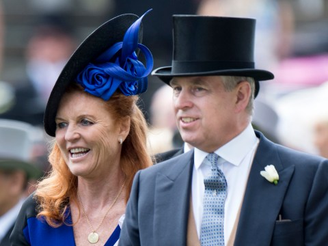 How old is Prince Andrew, who are his daughters and what is his relationship with Sarah Ferguson?