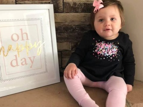 Baby diagnosed with cancer at five months celebrates being in remission