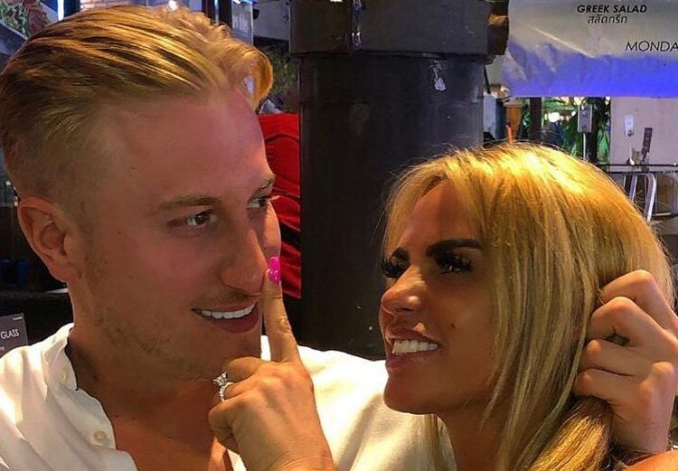 Katie Price 'blames her painful facelift' on Kris Boyson after he mocked her weight