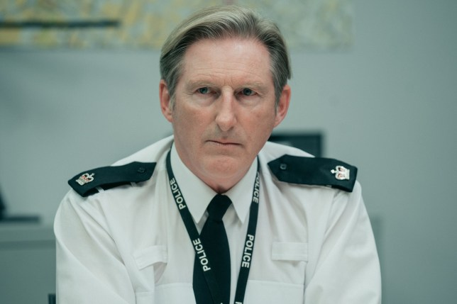 WARNING: Embargoed for publication until 00:00:01 on 02/04/2019 - Programme Name: Line of Duty - Series 5 - TX: n/a - Episode: Line of Duty S5 - Episode 2 (No. 2) - Picture Shows: ***EMBARGOED TILL 00:01 2ND APRIL 2019*** Hastings (ADRIAN DUNBAR) - (C) World Productions - Photographer: Aiden Monaghan