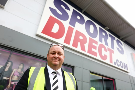 Mike Ashley, billionaire and founder of Sports Direct International Plc, poses for photographer at his company's warehouse following the company's annual general meeting (AGM) at their headquarters in Shirebrook, U.K., on Wednesday, Sept. 7, 2016. Britain's biggest sporting-goods retailer has been admonished by lawmakers for presiding over appalling treatment of workers at its main warehouse and come under fire from shareholders over corporate governance. Photographer: Chris Ratcliffe/Bloomberg via Getty Images