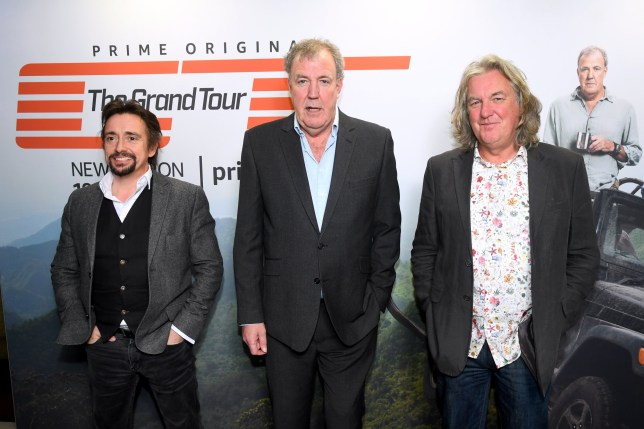 Jeremy Clarkson, Richard Hammond and James May promote The Grand Tour, which is returning for series four on Amazon Prime