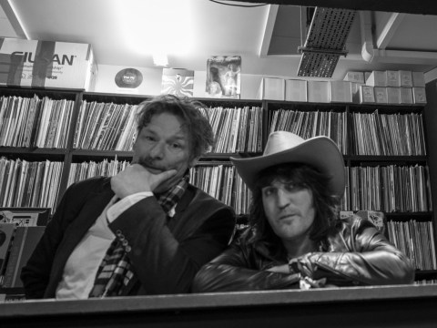 The Mighty Boosh's Noel Fielding and Julian Barratt reunite for Record Store Day – and throw shade at streaming