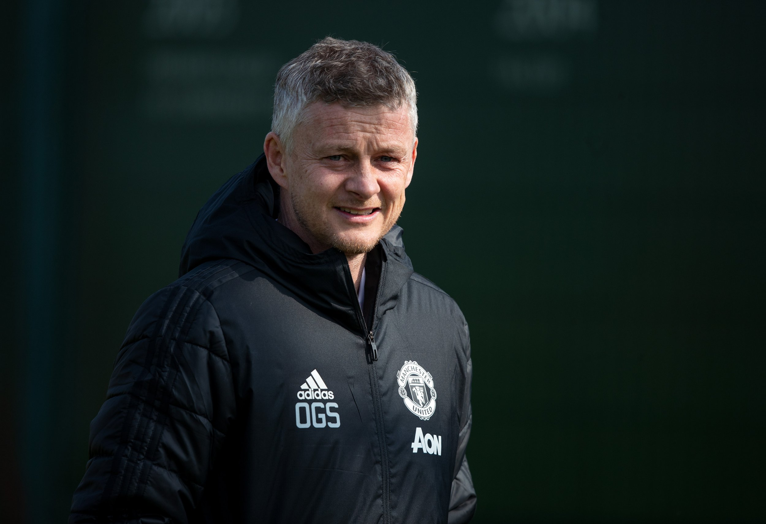 Manchester United manager Ole Gunnar Solskjaer during the training session at the Aon Training Complex, Manchester. PRESS ASSOCIATION Photo. Picture date: Tuesday April 9, 2019. See PA story SOCCER Man Utd. Photo credit should read: Ian Hodgson/PA Wire