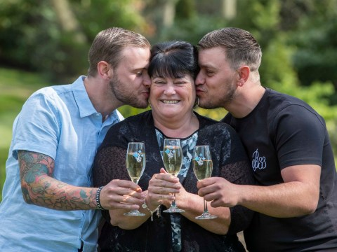 Dinner lady kept £1,000,000 lottery win a secret from sons for five weeks