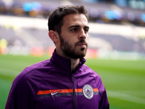 Bernardo Silva misses Manchester City's Champions League quarter-final against Spurs