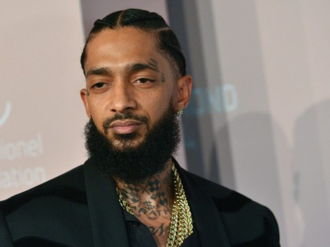 Nipsey Hussle's family pay respects to rapper in private viewing a day before his Staples Centre memorial