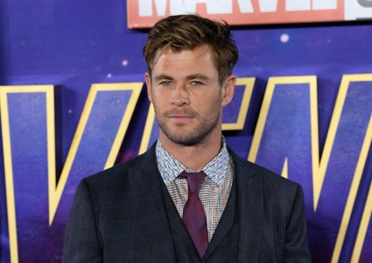 Mandatory Credit: Photo by David Fisher/REX (10196777w) Chris Hemsworth 'Avengers: Endgame' film fan event, London, UK - 10 Apr 2019