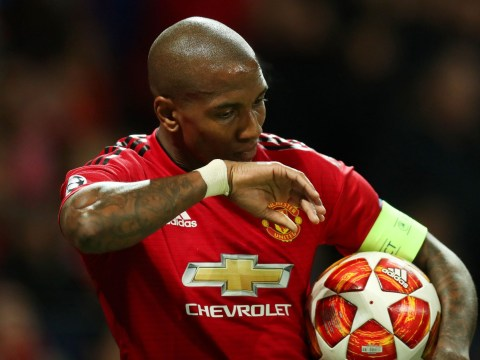 Manchester United fans order Ashley Young to be sold after Barcelona defeat