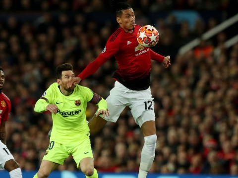 Chris Smalling never intended to hurt Lionel Messi, says Jose Mourinho