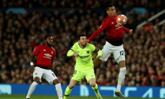Image result for smalling messi brilliant! solskjaer reveals plan ahead of second leg against barcelona BRILLIANT! SOLSKJAER REVEALS PLAN AHEAD OF SECOND LEG AGAINST BARCELONA SEI 61469094 e1554931374837
