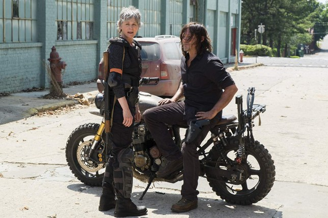 The Walking Dead fans are worried for Carol and Daryl in season 10 Provider: AMC Source: https://www.imdb.com/title/tt1520211/mediaviewer/rm972242176?ft0=name&fv0=nm0564350&ft1=image_type&fv1=still_frame